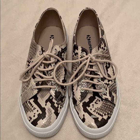 Superga Shoes | Superga Snakeskin Shoes